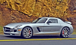 Coupe Models at TrueDelta: 2015 Mercedes-Benz SLS AMG exterior