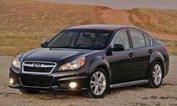 2013 - 2014 Subaru Legacy Reliability by Generation
