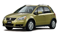 Hatch Models at TrueDelta: 2013 Suzuki SX4 exterior