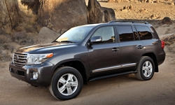 SUV Models at TrueDelta: 2015 Toyota Land Cruiser V8 exterior