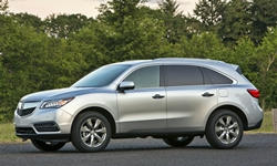 2014 - 2016 Acura MDX Reliability by Generation
