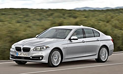 BMW 5-Series Gas Mileage (MPG):