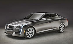Coupe Models at TrueDelta: 2014 Cadillac CTS exterior