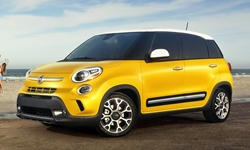 Hatch Models at TrueDelta: 2018 Fiat 500L exterior