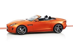 Convertible Models at TrueDelta: 2017 Jaguar F-Type exterior