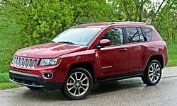 Jeep Models at TrueDelta: 2017 Jeep Compass exterior