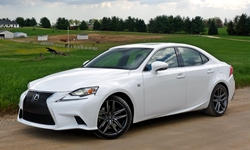 Convertible Models at TrueDelta: 2015 Lexus IS exterior