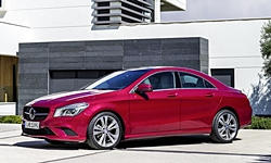 Mercedes-Benz Models at TrueDelta: 2016 Mercedes-Benz CLA exterior