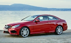 Coupe Models at TrueDelta: 2017 Mercedes-Benz E-Class (2-door) exterior
