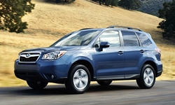 Chevrolet Equinox vs. Subaru Forester MPG
