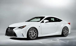 Coupe Models at TrueDelta: 2016 Lexus RC exterior