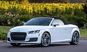Convertible Models at TrueDelta: 2018 Audi TT exterior