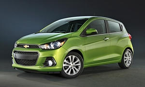 Hatch Models at TrueDelta: 2018 Chevrolet Spark exterior