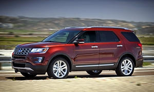 Ford Explorer vs. Ford Flex MPG