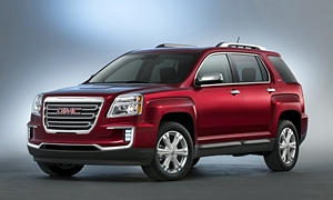 GMC Models at TrueDelta: 2017 GMC Terrain exterior