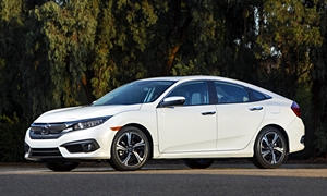 Honda Civic vs. Chevrolet Cruze MPG