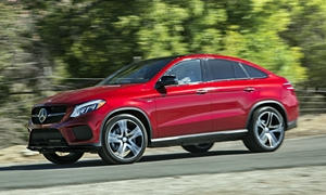 SUV Models at TrueDelta: 2017 Mercedes-Benz GLE Coupe exterior
