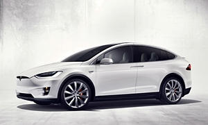 Tesla Models at TrueDelta: 2017 Tesla Model X exterior