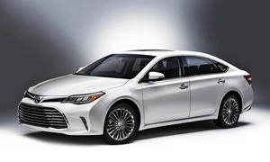 Toyota Models at TrueDelta: 2017 Toyota Avalon exterior