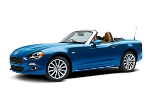 Convertible Models at TrueDelta: 2017 Fiat 124 Spider exterior