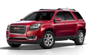 SUV Models at TrueDelta: 2017 GMC Acadia Limited exterior