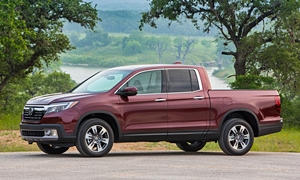 GMC Canyon vs. Honda Ridgeline MPG