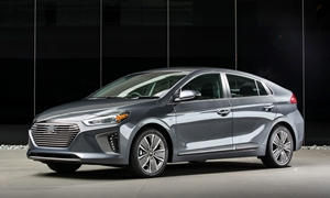 Hatch Models at TrueDelta: 2018 Hyundai Ioniq exterior