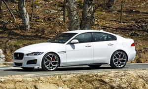 Jaguar Models at TrueDelta: 2017 Jaguar XE exterior