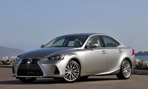 Lexus ES vs. Lexus IS MPG