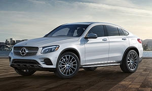 Mercedes-Benz Models at TrueDelta: 2019 Mercedes-Benz GLC Coupe exterior
