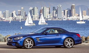 Convertible Models at TrueDelta: 2020 Mercedes-Benz SL exterior