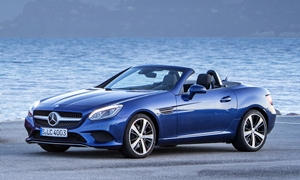Convertible Models at TrueDelta: 2020 Mercedes-Benz SLC exterior