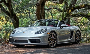 porsche 718 boxster 2017 features at truedelta standard. Black Bedroom Furniture Sets. Home Design Ideas