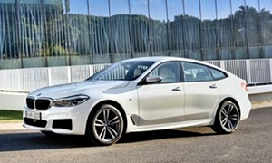 Hatch Models at TrueDelta: 2018 BMW 6-Series Gran Turismo exterior