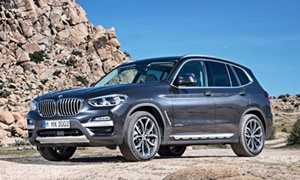 SUV Models at TrueDelta: 2020 BMW X3 exterior