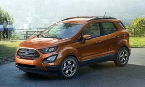 SUV Models at TrueDelta: 2020 Ford EcoSport exterior