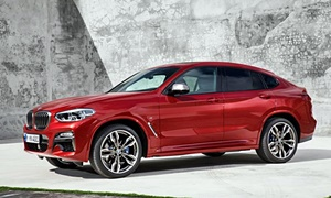 SUV Models at TrueDelta: 2020 BMW X4 exterior