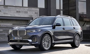 SUV Models at TrueDelta: 2020 BMW X7 exterior