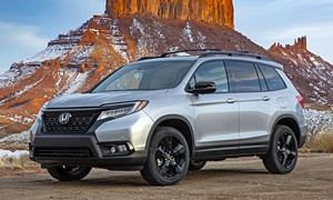 Honda Models at TrueDelta: 2019 Honda Passport exterior