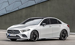 Mercedes-Benz Models at TrueDelta: 2020 Mercedes-Benz A-Class exterior
