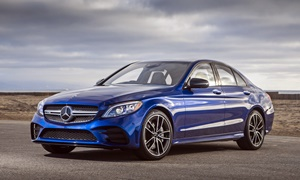 Coupe Models at TrueDelta: 2020 Mercedes-Benz C-Class exterior
