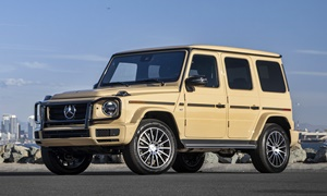 Mercedes-Benz Models at TrueDelta: 2019 Mercedes-Benz G-Class exterior