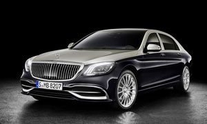 Mercedes-Benz Models at TrueDelta: 2020 Mercedes-Benz Maybach S-Class exterior