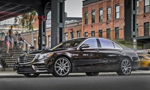 Coupe Models at TrueDelta: 2020 Mercedes-Benz S-Class exterior