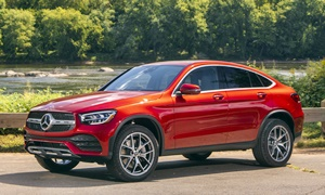 Mercedes-Benz Models at TrueDelta: 2020 Mercedes-Benz GLC Coupe exterior