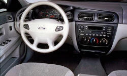 Ford Models at TrueDelta: 2007 Ford Taurus interior
