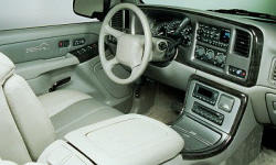 GMC Models at TrueDelta: 2006 GMC Yukon interior
