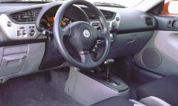Hatch Models at TrueDelta: 2006 Honda Insight interior
