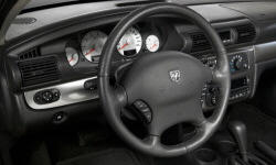 Dodge Models at TrueDelta: 2006 Dodge Stratus interior
