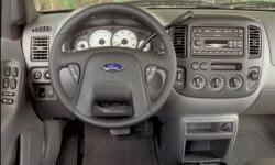 2001 Ford Escape Mpg